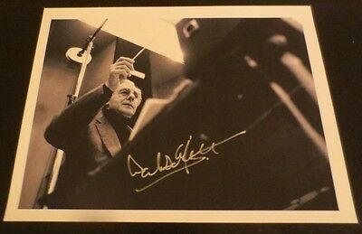 Lalo Schifrin composer signed autographed photo Mission Impossible Theme Song