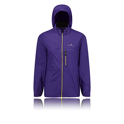 Ronhill Quantum Womens Purple Water Resistant Hooded Trail Running Jacket Top