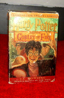 Harry Potter & the Goblet of Fire Unabridged on 12 Audio Cassettes