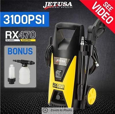 2100W Jet-USA Pressure Washer Electric 3100PSI High Pressure Cleaner