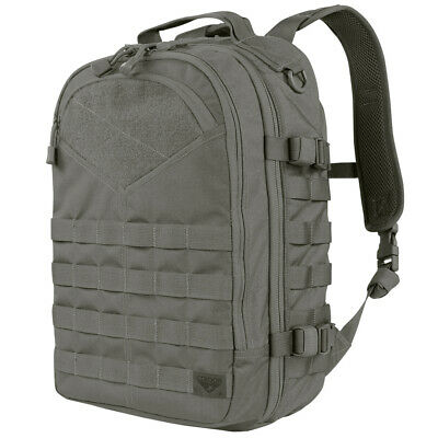 Condor Frontier Outdoor Hiking Padded Backpack Tactical Army Molle Pack Graphite