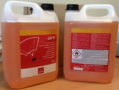 Screenwash 10Ltr Screen Wash Concentrate -20 Winter 2 x 5Ltr