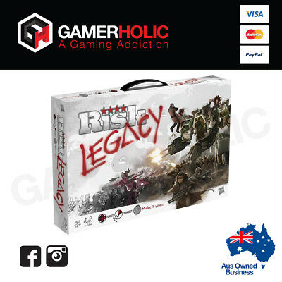 Risk Legacy Board Game - Hasbro - Brand New - Limited Stock - Aus