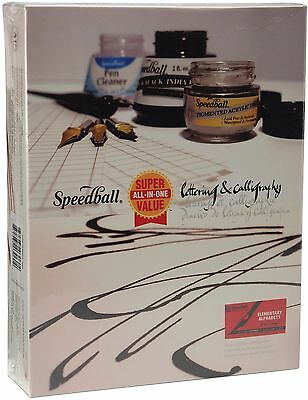 Speedball Lettering and Calligraphy Kit Calligraphy Set Speedball