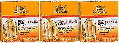 """Tiger Balm Patch, Pain Relieving Patch, 4""""x2.75"""", 5 Ct Package ( 3 pack )"""