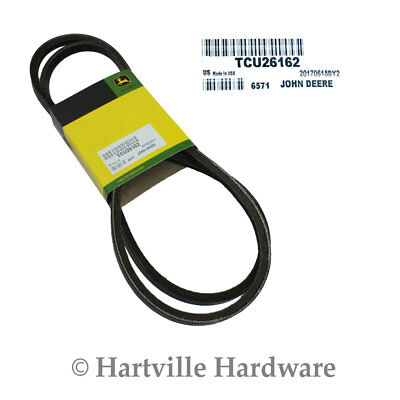 John Deere Original Equipment Traction Drive V-Belt #TCU26162