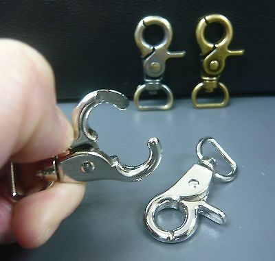 Scissor Claw Lobster Clasps Swivel Trigger Clips Snap Hooks for 12mm strapping