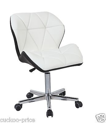 Modern Uranus Padded Swivel PU Leather Computer Desk Office Chair Mixed Color