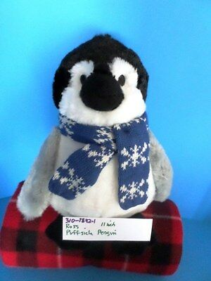Russ Puffsicle the Penguin beanbag plush(310-1842-1)