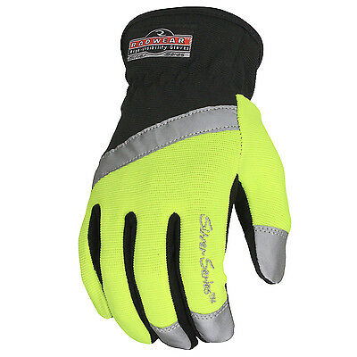 RAdians RWG100 RADWEAR SILVER SERIES ALL PURPOSE SYNTHETIC HI-VIZ UTILITY GLOV
