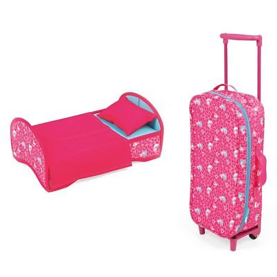 Janod Birdy Trolley and Doll Cradle Set for 2 years+ Wheels