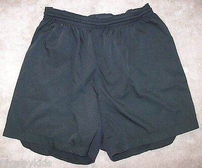 EXC EUC Nike Mens Basketball Running Workout Athletic Shorts Black Small S