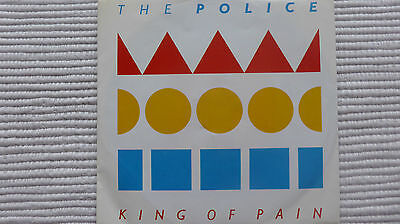 """The Police King of Pain (Very Rare) US 7"""" Single"""