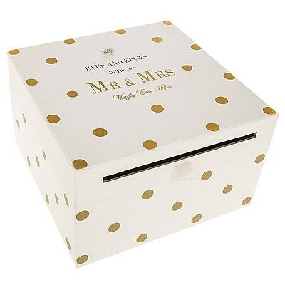 Wedding Accessories Mr & Mrs Card Gift Collection Box Mad Dots Collection