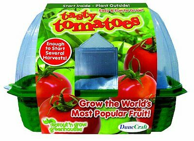 NEW DuneCraft Sprout 'n Grow Greenhouses - Tomatoes BRAND NEW