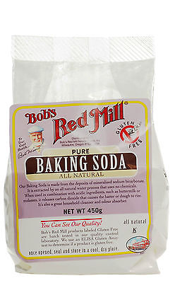 Bob's Red Mill Pure Baking Soda 450g Gluten Free, All Natural