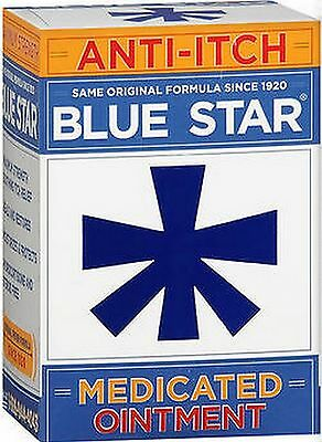 Blue Star Ointment For Ringworm / Eczema Itching 2oz