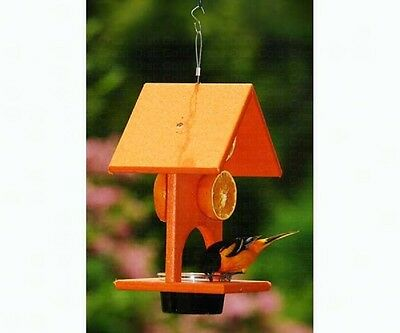 Songbird Essentials FRUIT and JELLY ORIOLE FEEDER, Lg Capacity, MADE IN USA  dm