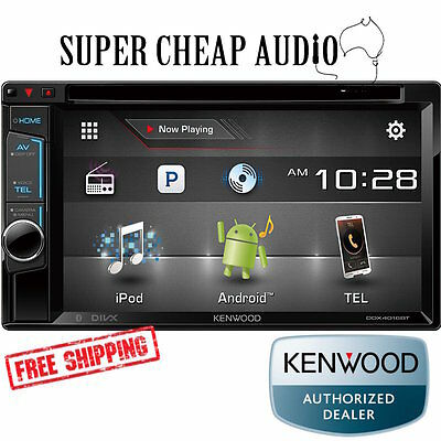 Kenwood Ddx4016Bt 6.2 Dvd Screen Bluetooth 1.5 Amp Usb App Mode Android Iphone