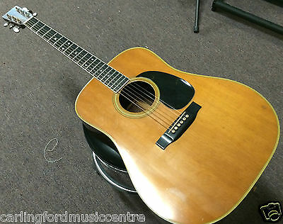 MARTIN & Co D35 Vintage 1974 Acoustic Electric Guitar @ CarlingfordMusic
