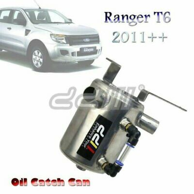 Stainless Steel Oil Catch Can For Ranger T60 PX XL 11++ 3.2L Diesel Turbo
