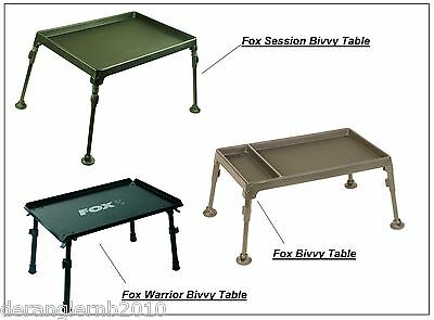Fox Session Warrior Bivvy Table Zeltisch CAC187 CAC357 CAC053