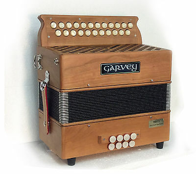 Button Accordion Wood Finish  -best improver accordion available