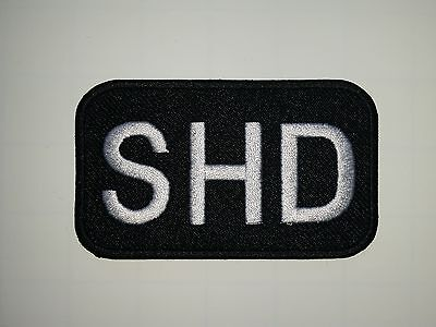 Tv/movie/game Embroidered Callsign Patch Shd From The Division Game