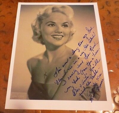 Anita Wood Brewer Elvis Presley girlfriend autographed photo signed w/ content