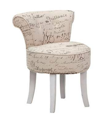 Poltrona poltroncina sedia design shabby chic vintage for Poltrona design lorraine moderna similpelle bianca