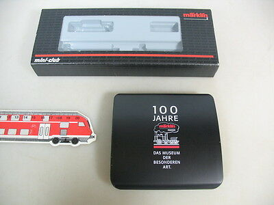 Q763-0,5# Märklin mini club Z Gauge Empty box 82354+ Tin Museum vehicle 2000
