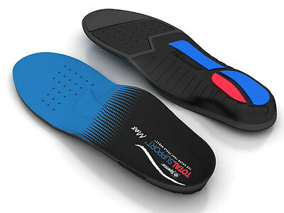 SPENCO POLYSORB TOTAL SUPPORT MAX Sport Insoles Athletic Running 3-POD Orthotics