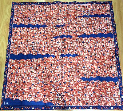 Japan Import -New Vintage JAPANESE FABRIC TABLE CLOTH - FABRIC POSTER 100x100cm