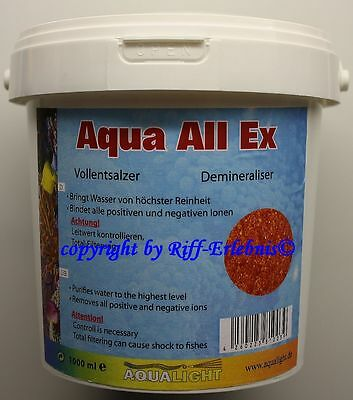 Aqua Light  Aqua All Ex 1000ml Vollentsalzer  Reinstwasserharz 17,80€/L