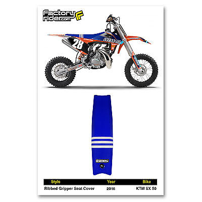 2016 KTM SX 50 SEAT COVER Team Issue TLD by Enjoy MFG