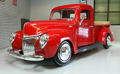 G LGB 1:24 Scale 1940 Ford Delivery Truck Pickup Motormax Diecast Model 73250