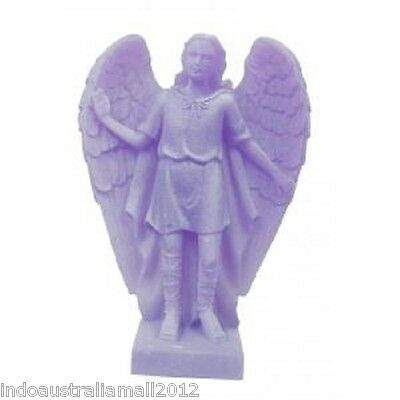 Brand New  Archangel RAPHAEL Statue Purple for Healing  138mm (AG005P)