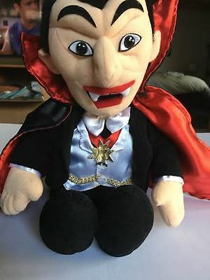 Dracula Plush doll Universal Studios Monsters 17 inch head to toe New with tags