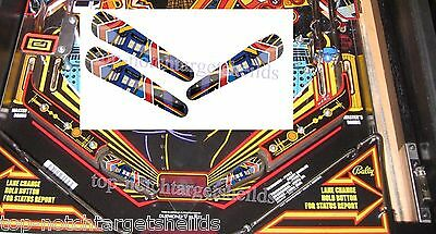 DR. WHO Pinball Flipper Cushioned Armour Mod-3 piece set