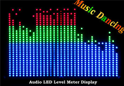 RGB 32*32 Audio Indicator LED VU Meter Music Display Spectrum Analyzer For Amp