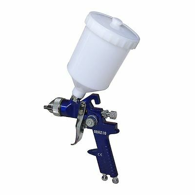 22142030 High Pressure Gravity Feed HVLP Paint Spray Gun 500CC 1.4MM Nozzle