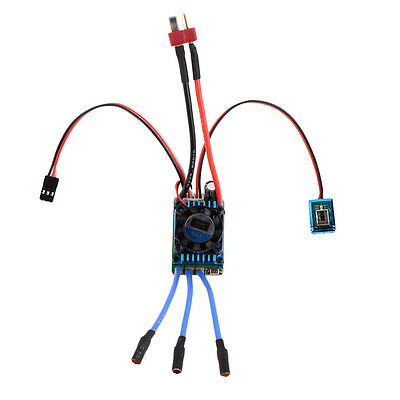 Racing 60A ESC Brushless Electric Speed Controller For 1:10 RC Car Truck N4