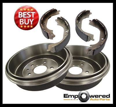 Nissan Pulsar N14 & N15 10/1991-5/2000 REAR BRAKE DRUMS + BRAKE SHOES RDA6522