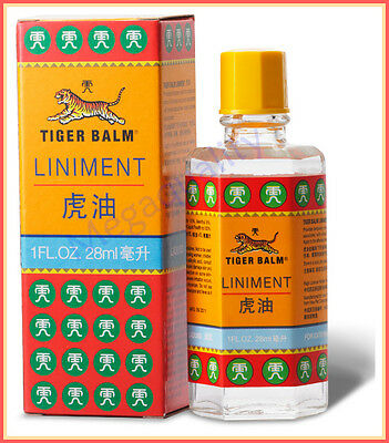 Tiger Balm Liniment Liquid Relief From Muscle And Joint Pain 28 ml