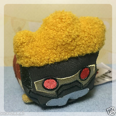 "Disney MARVEL GUARDIANS OF THE GALAXY STAR LORD Mini 3.5""  Tsum Tsum Plush NEW!"