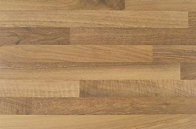 Blocked Oak Breakfast Bar Laminate Kitchen Surface Worktop Offcut 1m 1.5m 2m 3m