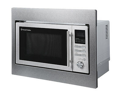 Russell Hobbs RHBM2503 25L Integrated Stainless Steel Digital Combi Microwave