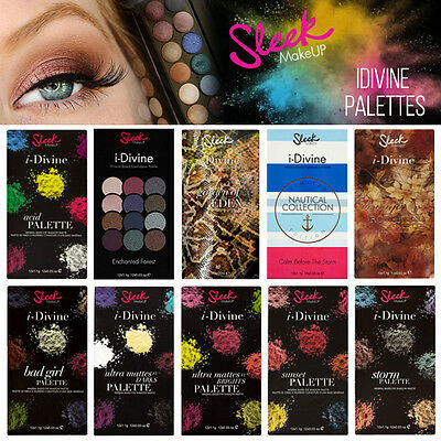 Sleek MakeUP - I-Divine 12 Colour Eyeshadow - Collection