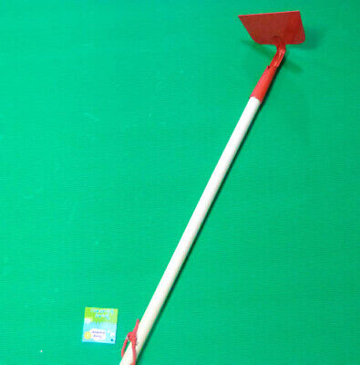 Gardening Hoe (70cm) Red Metal with wooden handle