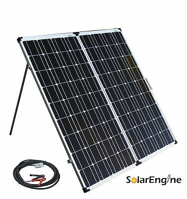 190W Folding Solar Panel Controller Cable portable panneau solaire camping RV p